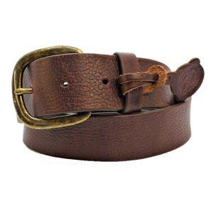 Belt Men's Justin Work Brown Basic Belt