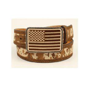 Ariat Patriot Camo USA Belt