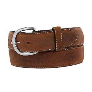 Belt Men's Leather Brown Classic Made in U.S.A
