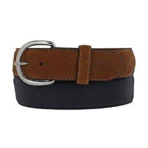 Belt Men's Leather Belt Two Tone Made In U.S.A.