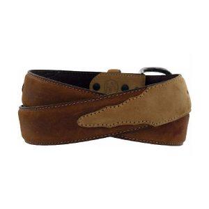 Belt Men's Two Tone Brown Made in U.S.A.