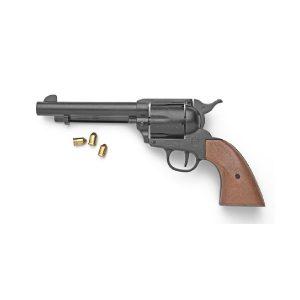Replica Black Finish Blank Firing Revolver