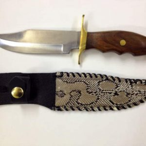 genuine python sheath 10 in knife