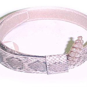 Genuine Rattlesnake hatband with Rattle