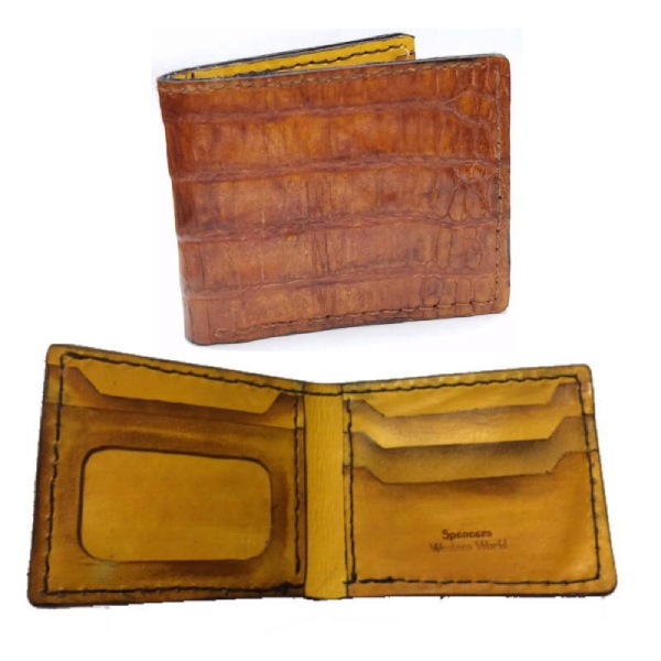 Hand Made Genuine Gator Wallet
