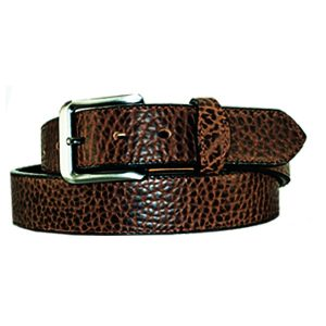 Handmade Classic 1 12 American Bison Leather Belt