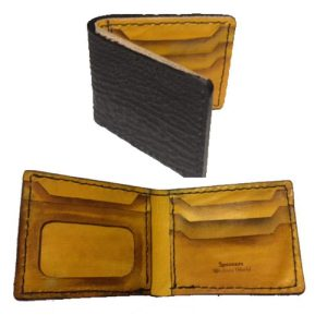 Handmade Wallet Genuine Shark
