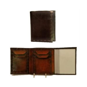 Handmade Wallet Genuine Super Soft Leather Full Size Trifold