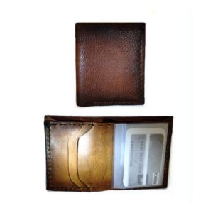 Handmade Wallet Super Soft Vertical Genuine Leather Billfold