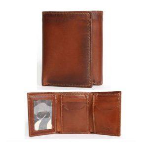 Wallet Trifold Brn Wallet