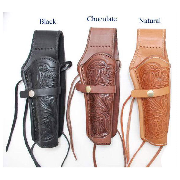 Holster Heavy Tooled Leather