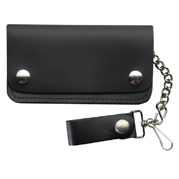 Wallet Biker Medium Wallet with Chain.