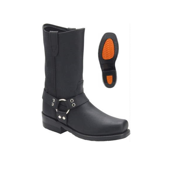 Biker Boot Double H made in U.S.A.