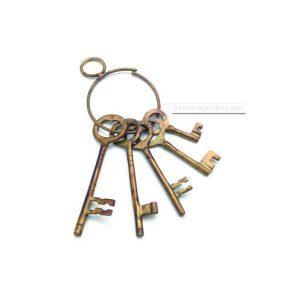 Old West Jailer's Keys Old West Decor