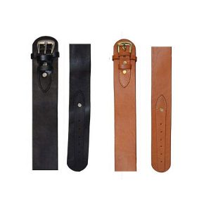 Holster Smooth Leather Belt FOR Gun Holsters