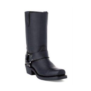Durango Biker Black Ladies Leather w/ Harness