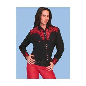 blouse-gunfighter-blk-crimson