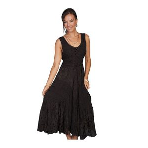 Scully Dress in Black
