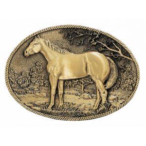 Montana Silversmiths Standing Horse Belt Buckle