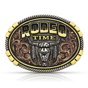 Montana Silversmiths Dale Brisby Rodeo Time Attitude Buckle
