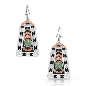Montana Silversmiths Desert Serenade Turquoise Earrings