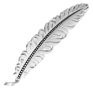 Montana Silversmiths Classic Montana Hat Feather