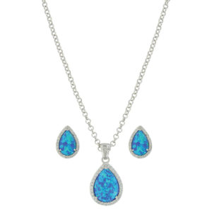 Montana Silversmiths River Lights Perfect Drops Jewelry Set
