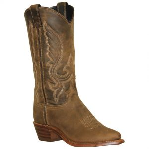Abilene Brown Cowhide Western