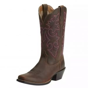 Ariat Round Up Square Toe Western Boot