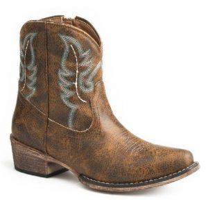 Roper Cognac Shay Boots