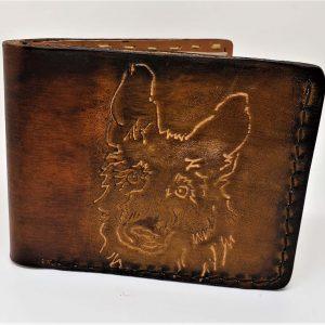 German Shepard Handmade Bifold Wallet