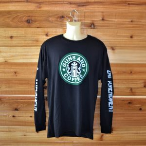 Guns & Coffee Long Sleeve T-shirt