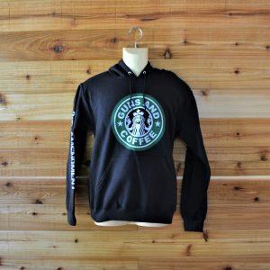 Guns & Coffee Long Sleeve Sweatshirt