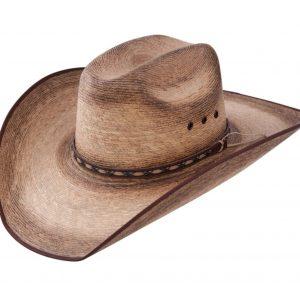 Jason Aldean Amarillo Sky Bound Edge Palm Leaf Cowboy Hat