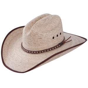 Jason Aldean Hicktown Bound Edge Palm Leaf Cowboy Hat