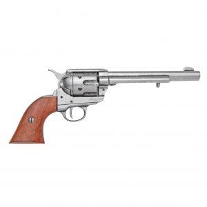 Replica M1873 Grey Finish Cavalry Single Action Revolver Non-Firing Gun