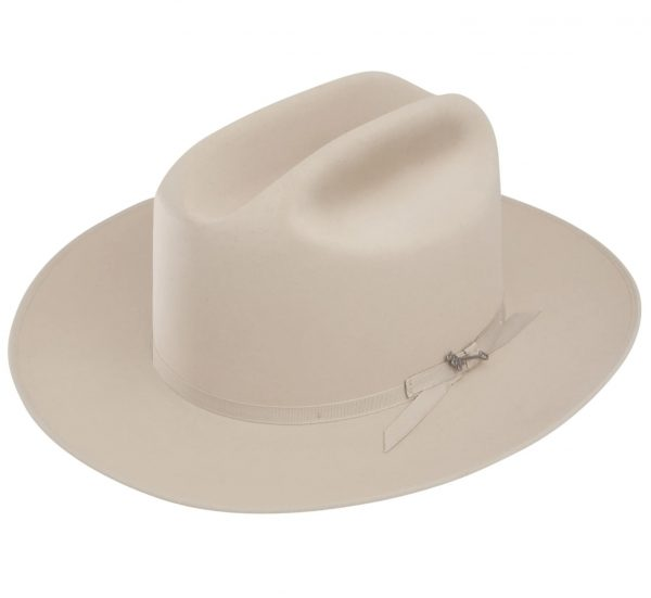 Stetson 6X Open Road Silverbelly Felt Cowboy Hat