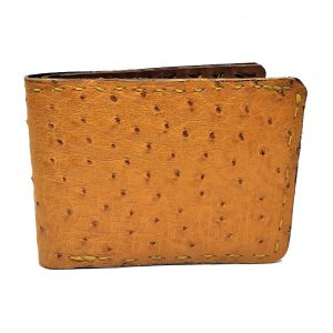 Handmade Wallet Genuine Ostrich