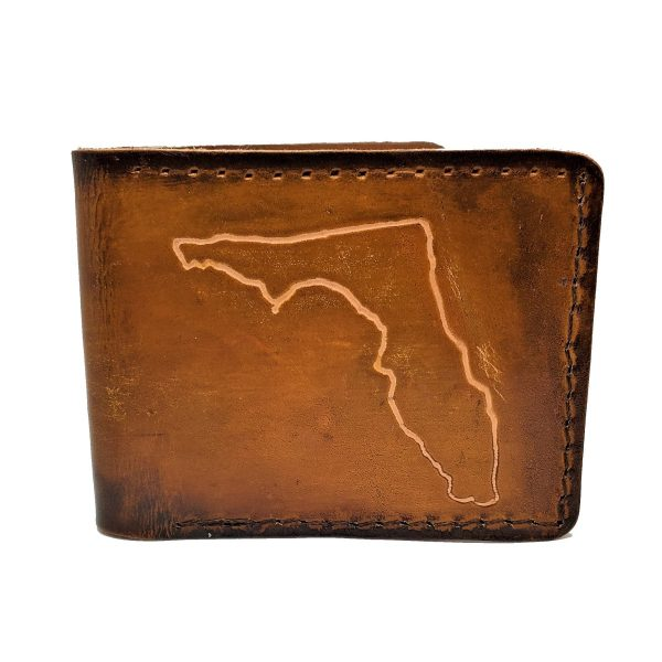 Handmade Wallet Florida Tooling