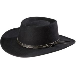 Stetson Blackhawk 4x wool crushable hat