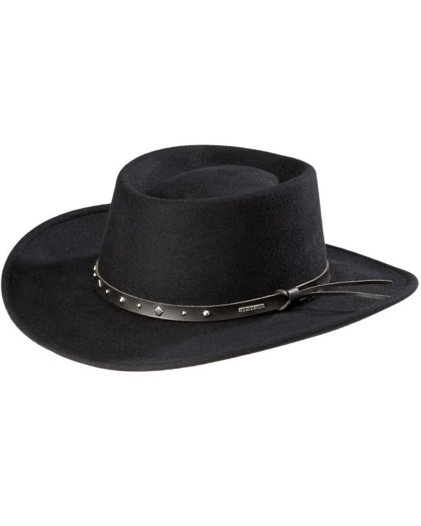 Stetson Blackhawk 4x wool crushable hat