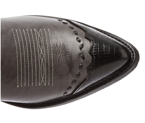 Laredo Flagstaff in grey and black toe