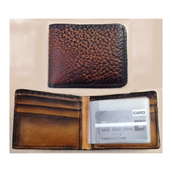 Handmade Wallet Genuine Softy Leather Wallet Made in USA