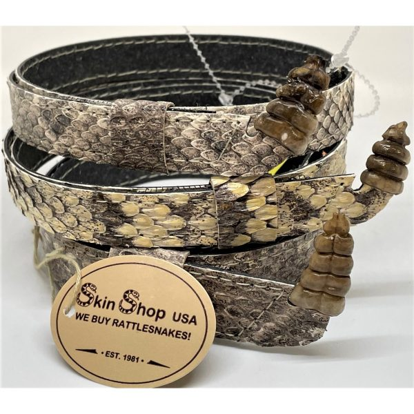 Genuine Rattlesnake Hat band with rattle.
