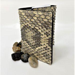 Genuine Rattlesnake Wallet tri-fold wallet