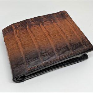 Genuine Crocodile Bi-fold Wallet