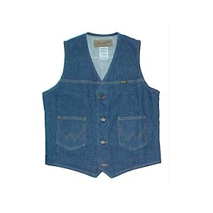 Men's Wrangler Denim Vest