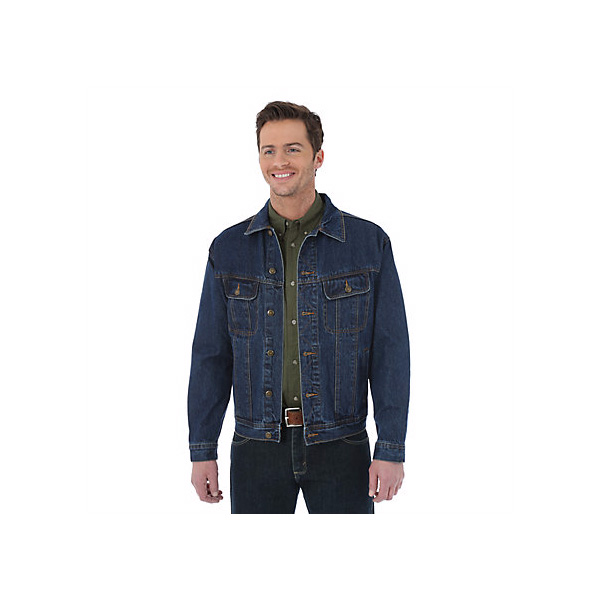 Men's Button-up Denim Jacket