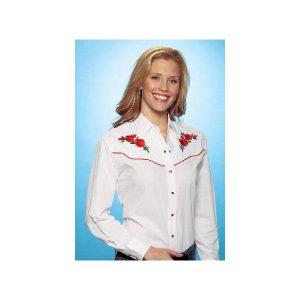 ladies-long-sleeve-blouse-red-rose