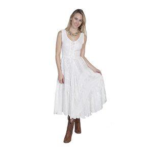 sleeveless-dress-in-ivory